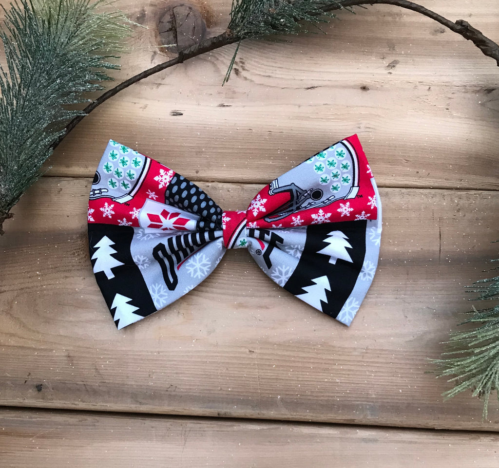 Ohio State Univerisity holiday edition bow tie