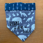 Born to be wild blue bandana