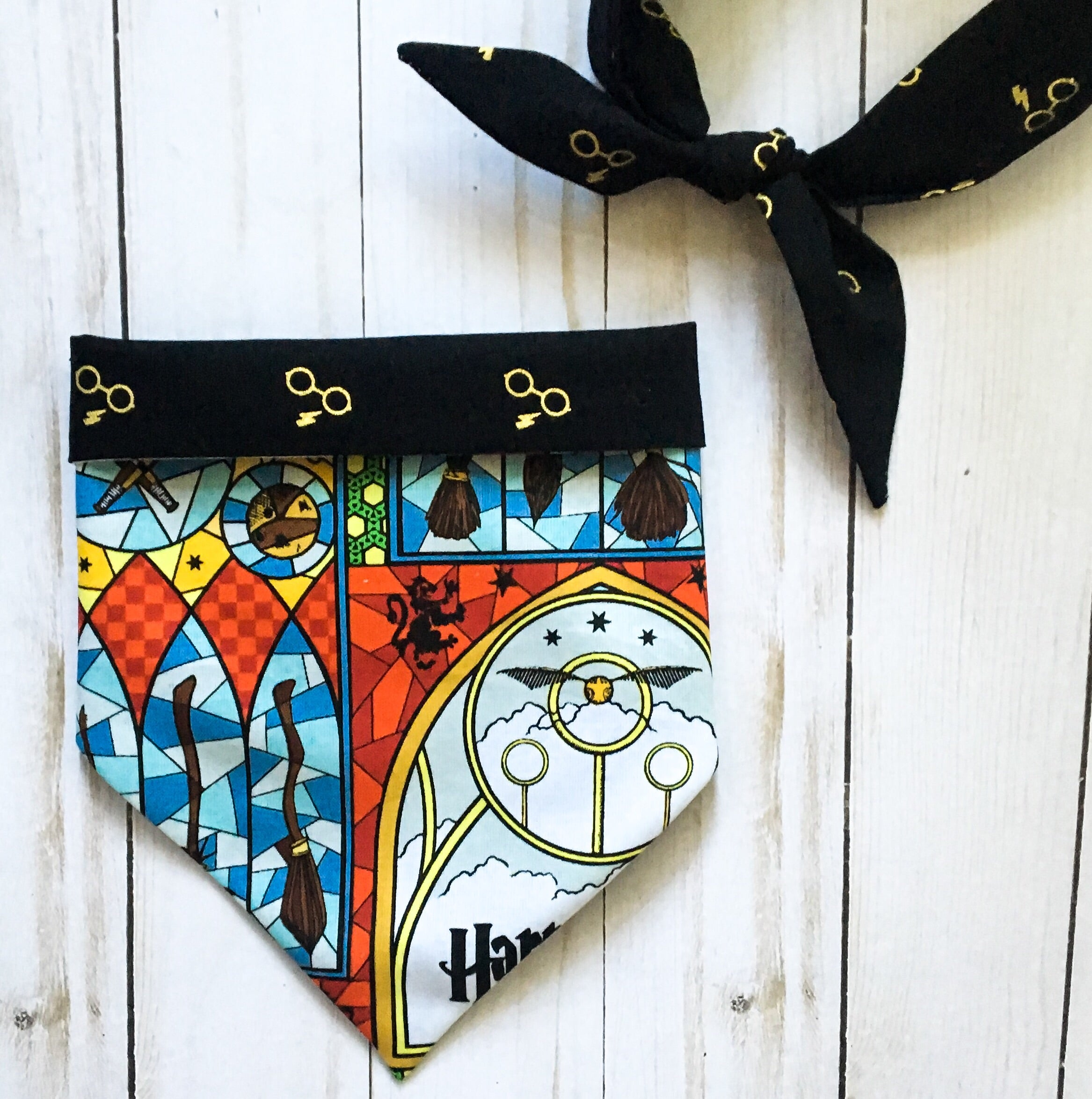 Harry Potter quidditch bandana