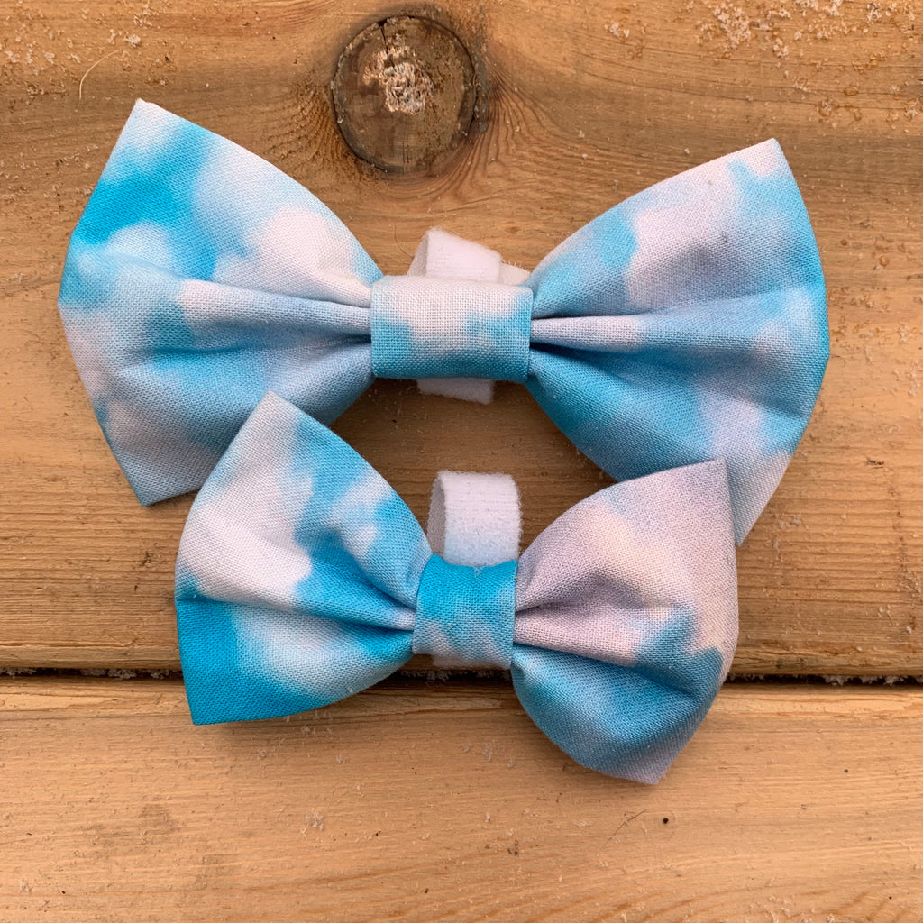 Sky and cloud bow tie