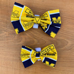 University of michigan bow tie