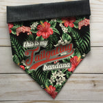 Osu tailgating Hawaiian bandana