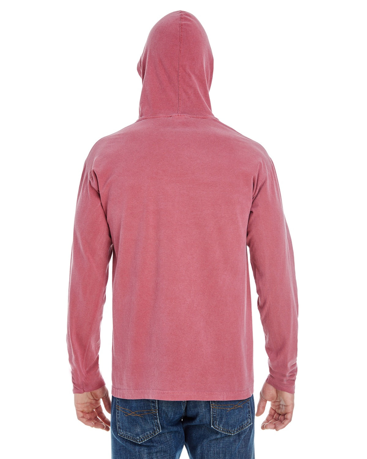 Merry and bright long sleeved hooded t shirt