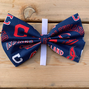 New Cleveland  indians baseball  bow tie