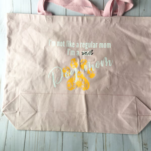 Cool Mom / Dog Mom tote bag