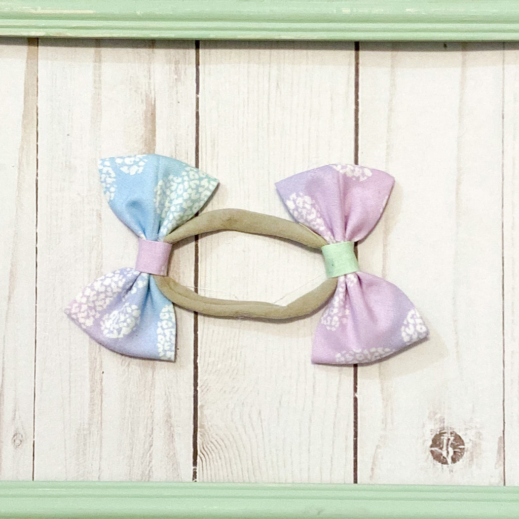 Shed happens ombré double bow headband