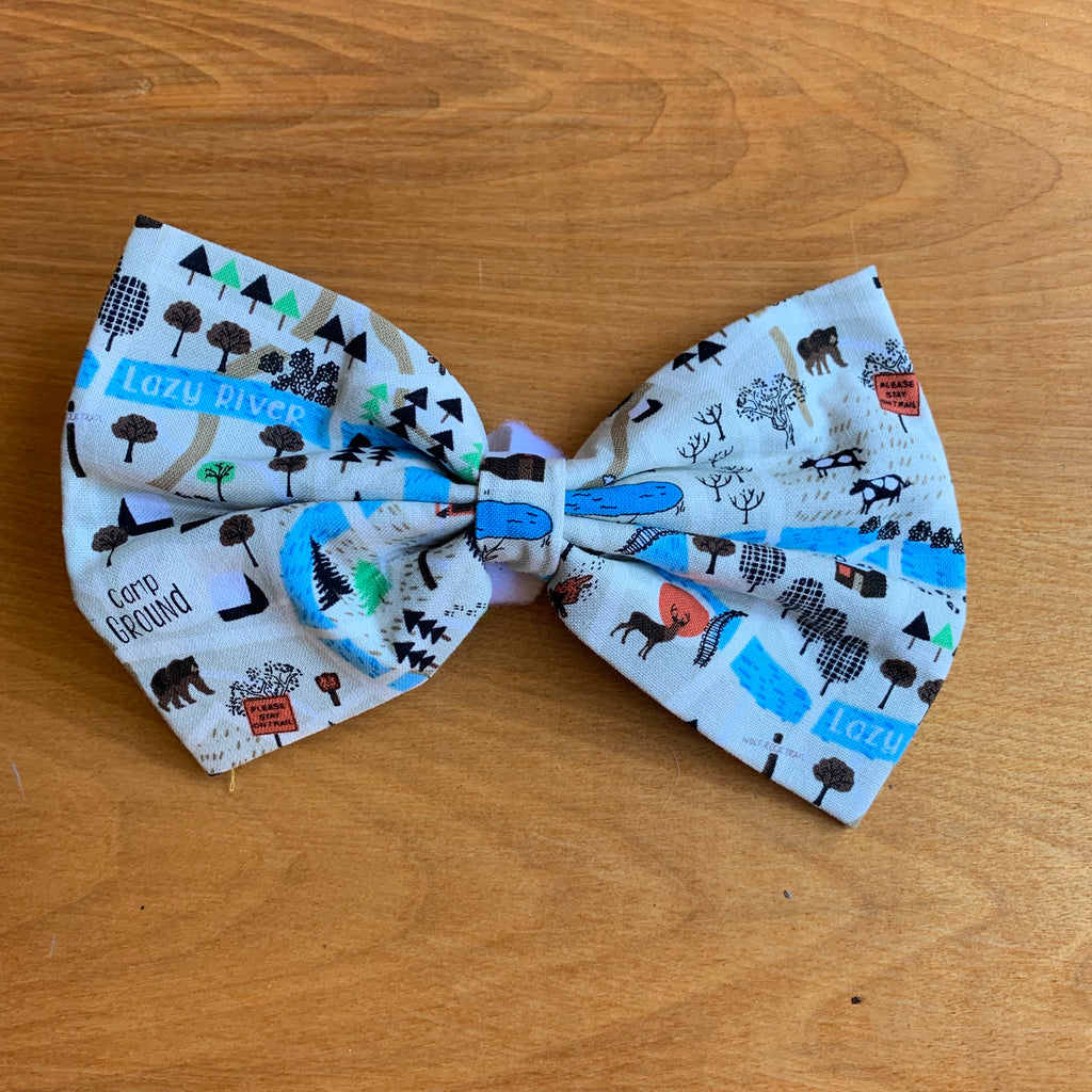 Camping bow tie