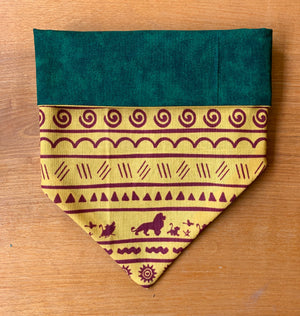 Lion king tribal   Bandana