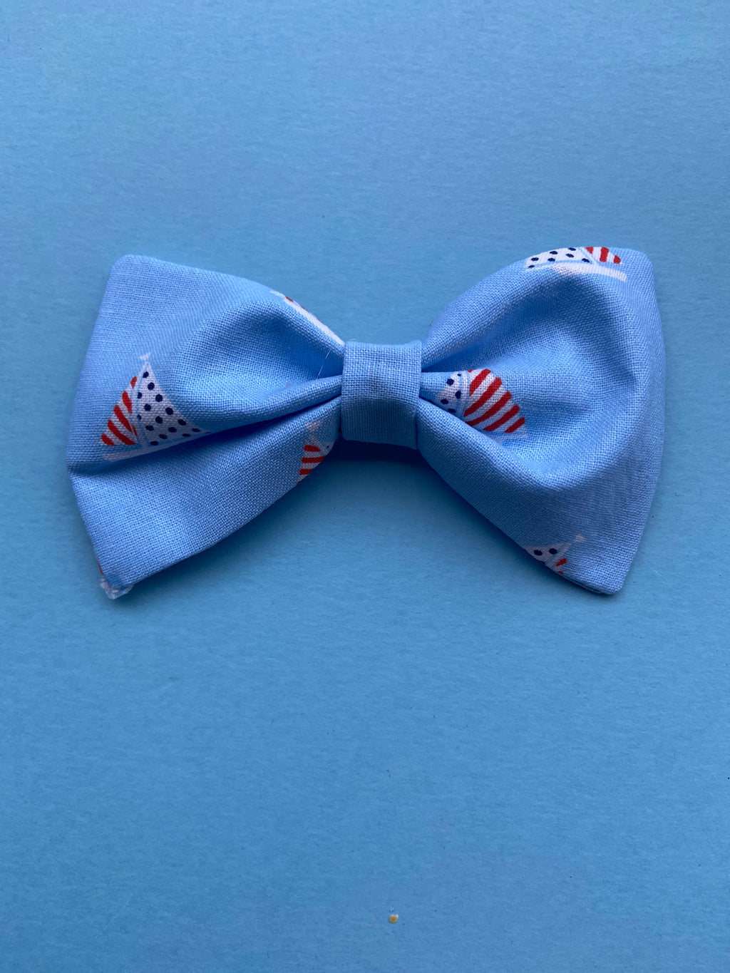 Sail boats bow tie