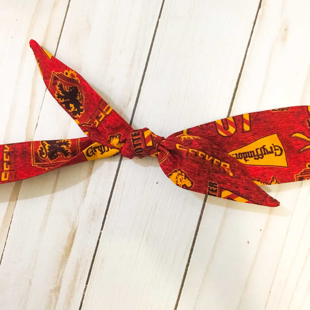 Harry Potter houses rosie headwrap gryffindor