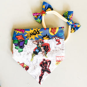 Marvel superhero bandana