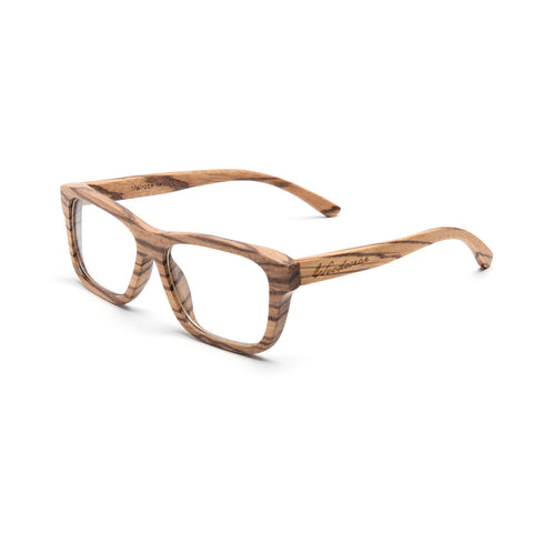 Melrose Zebra Wood RX Sunglasses
