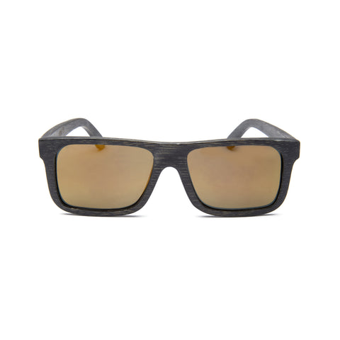 K38 Blue Wood Sunglasses