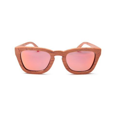 Venice Red Rosewood Sunglasses