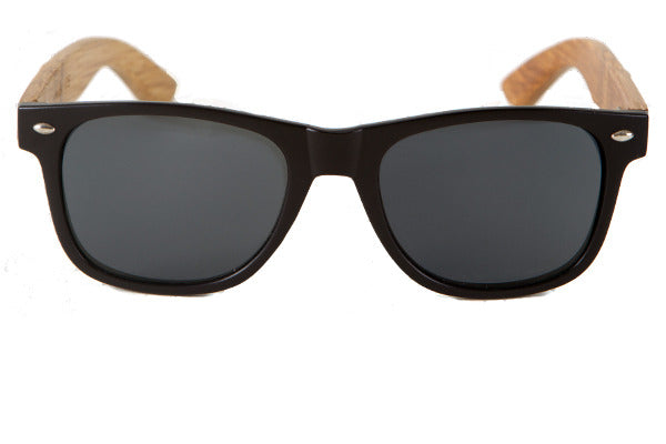 Woodwear Sunglasses - Matte Black Malibu model