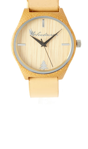 Sonoma Watch Collection - Tan Strap/Bamboo Face