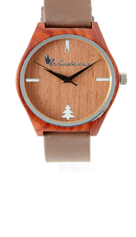 Sonoma Watch Collection - Brown Strap/Redwood Case