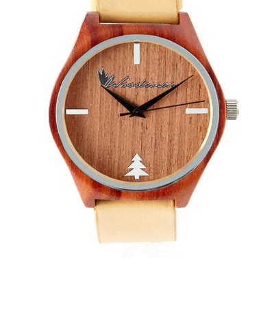 Sonoma Watch Collection - Tan Strap/Redwood Case