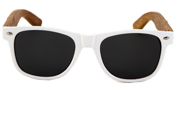 Woodwear Sunglasses - White Malibu model