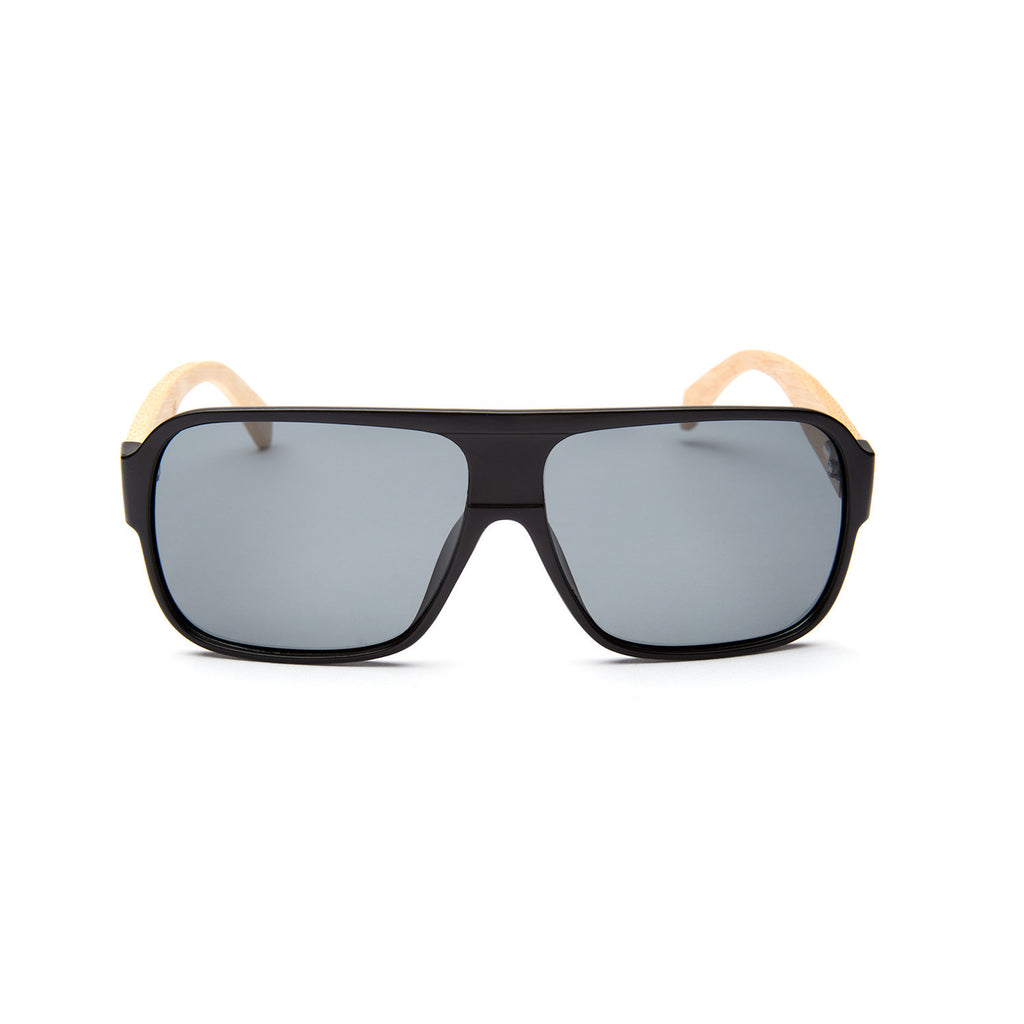 Whitney Matte Black Sunglasses