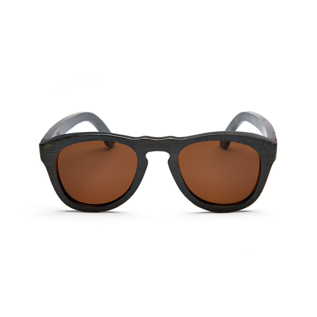 Breck Dark Wood Sunglasses