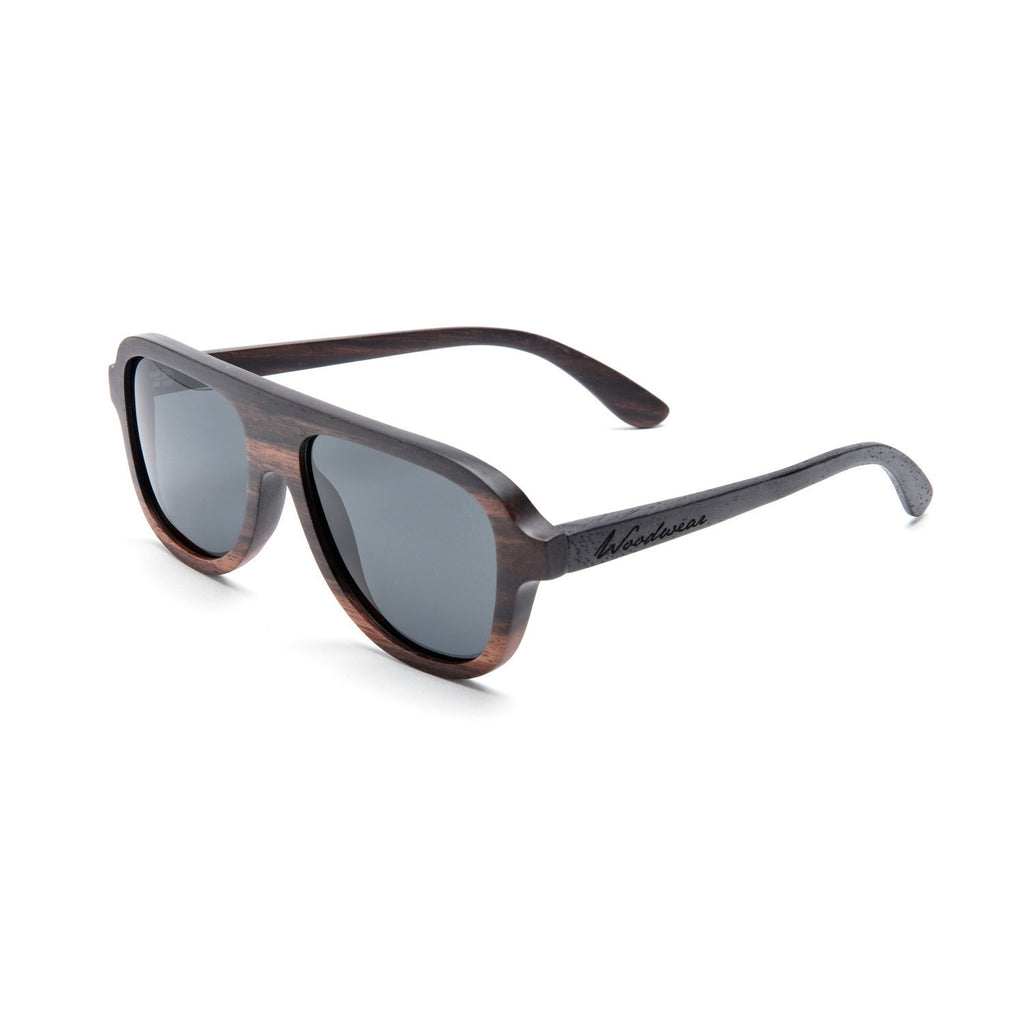 Gaslamp Ebony Wood Sunglasses