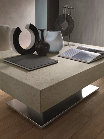 Coffee table combined with dining table
