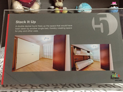 space saving bunk beds HDB Showflats 5 room flat