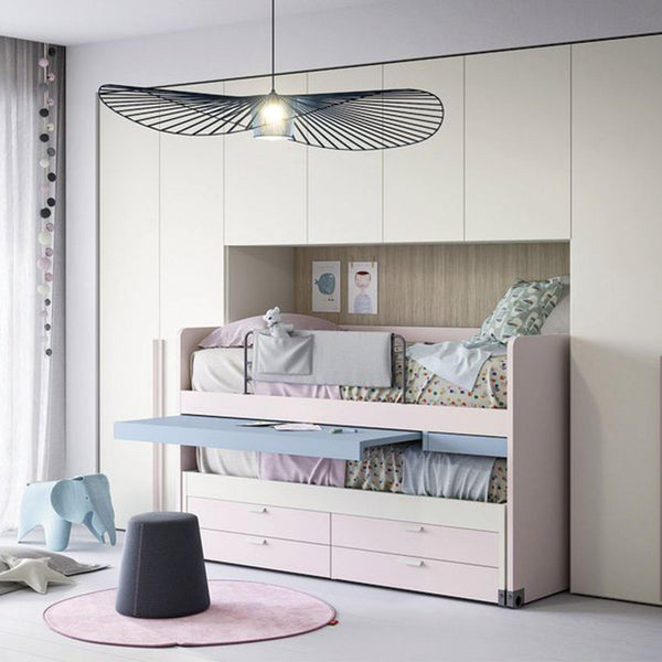 Cascade ~ kids bunk beds + desk