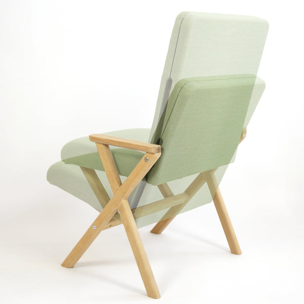 Zen ~ adjustable chair and footstool,Chairs - SPACEMAN