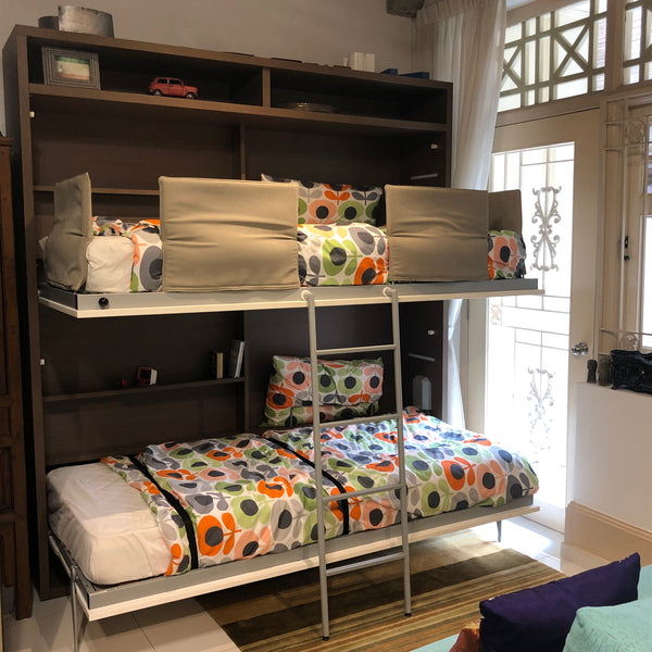 Tuckin Bunk Beds ~ EX-DISPLAY 25% OFF,Transforming beds - SPACEMAN
