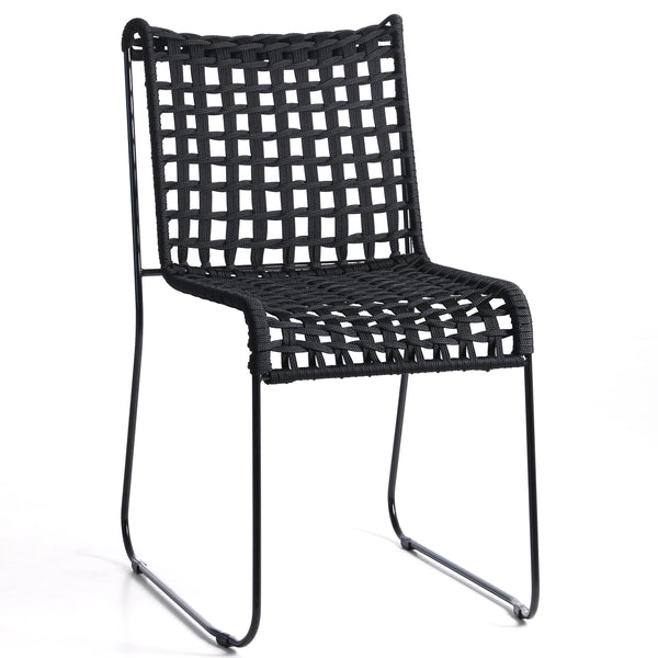 Rope ~ indoor/ outdoors dining chair