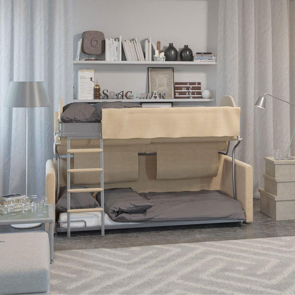 Bunk Bed That Converts Into A Sofa Slumbersofa Duo From Spaceman