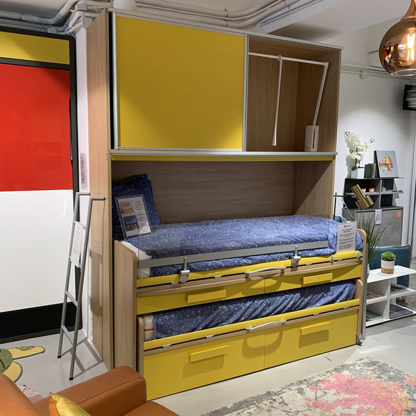 SALE: Cascade - EX-DISPLAY Kids bunk beds with desk 20% off sale