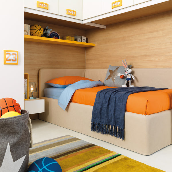 Pandora ~ single kids bed with hidden storage
