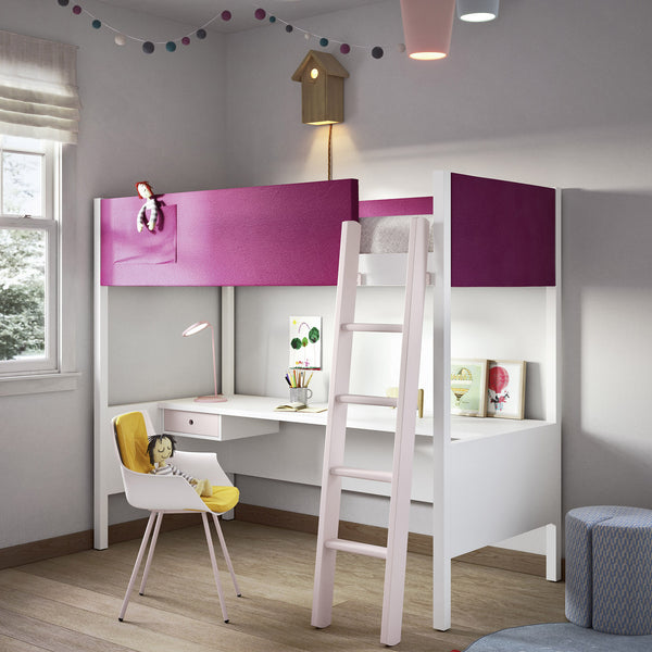 Scholar ~ kids loft bed + desk