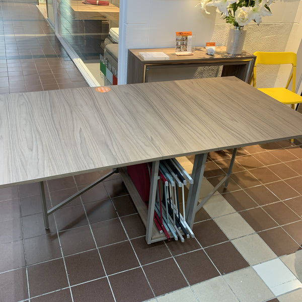 SALE: Ensemble  ~ EX-DISPLAY console dining table + chairs - Spaceman HK