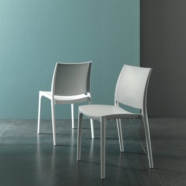 Dexter - stackable indoor/outdoor dining chair