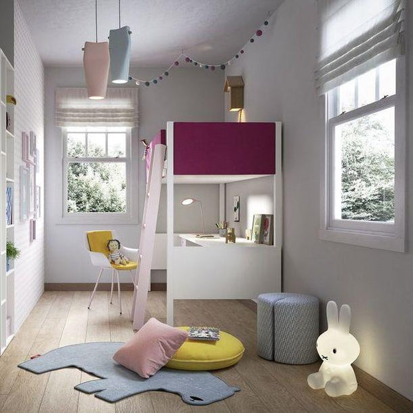 Stack Kids Loft Bed Desk Wardrobes Spaceman