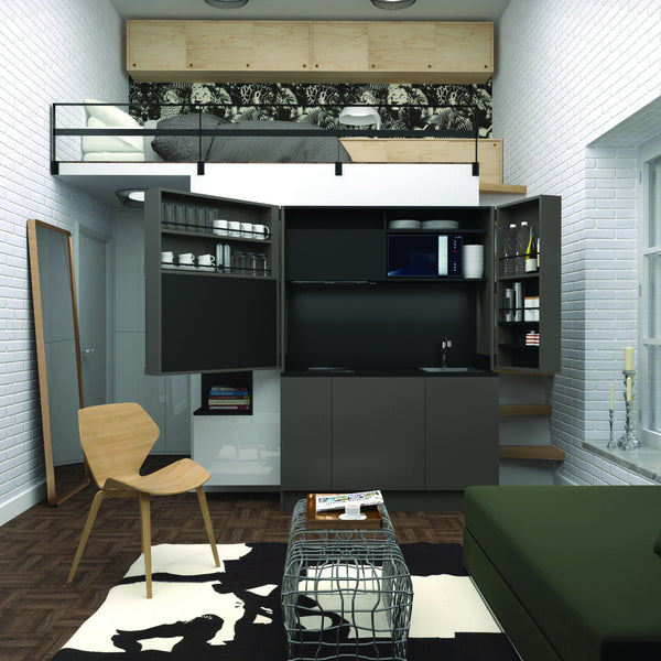 Apex ~ compact kitchen,Kitchen - SPACEMAN