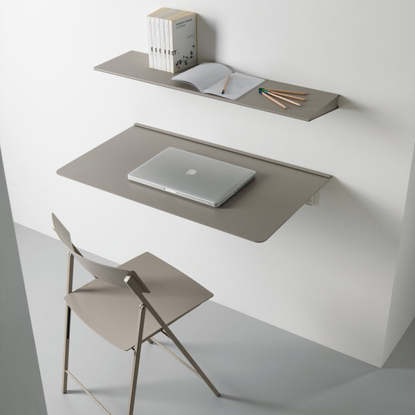 Skinny ~sleek wall mounted table folding table