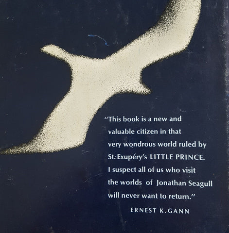 Jonathan Livingston Seagull -- SIGNED BY AUTHOR: Richard Bach