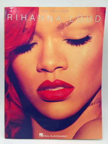 Rihanna Loud Piano Vocal Guitar Artist Songbook