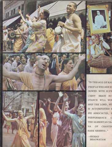 Rare Back to Godhead Hare Krishna Magazine From 1969 Number 31 Vintage Excellent Condition