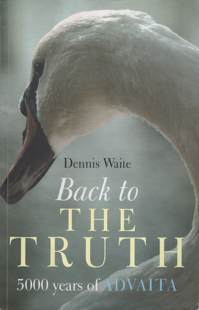 Back to the Truth 5000 Years Of Advaita by Dennis Waite