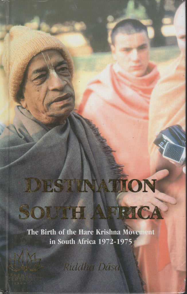 Destination South Africa: The Birth of the Hare Krishna Movement in South Africa