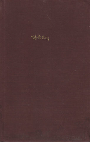Take it easy by Osho Bhagwan Shree Rajneesh First Edition