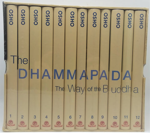 The Dhammapada: The Way of the Buddha complete 12 volume Series by Osho - NEW