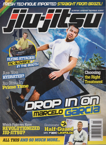 Jiu-Jitsu Magazine October November 2012 - Marcello Garcia & Fabio Leopoldo