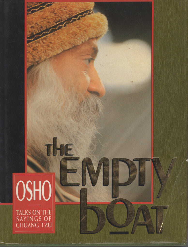 The Empty Boat by Osho Bhagwan Shree Rajneesh 2nd Edition Hardcover
